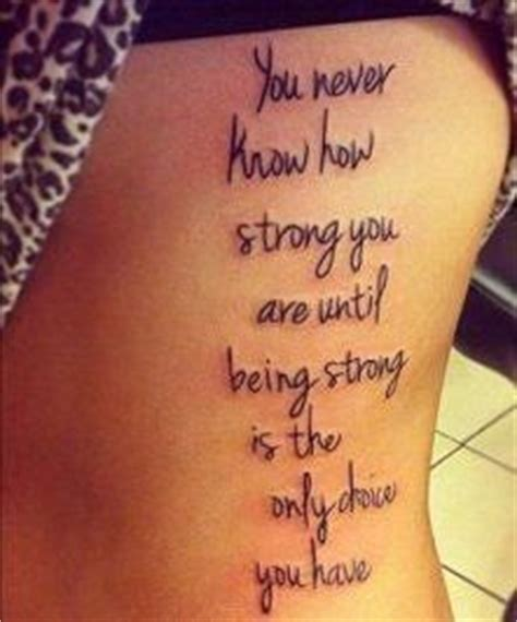 Tattoo Quotes About Being Strong In Life | tattoo quotes about being strong quotesgram