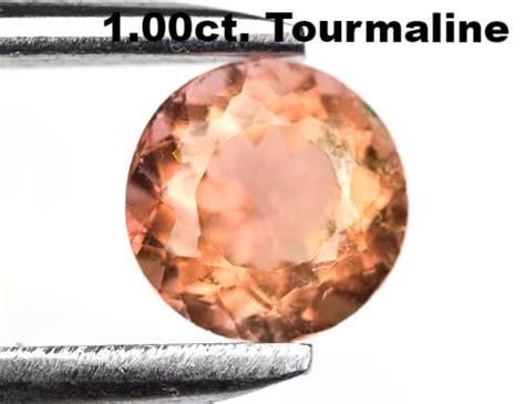 Mozambique Orange Greenish Tourmaline Oval 115 Ct relic hunters antiques gems jewelry