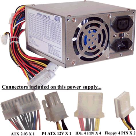 Power Supply 400watt 400 watt atx power supply
