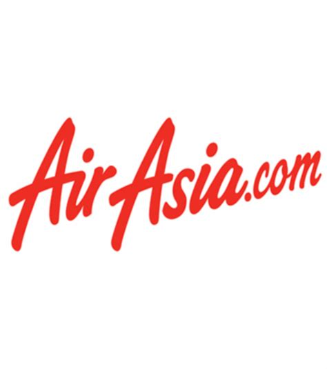 Kaos Air Asia Flight Logo Airasia