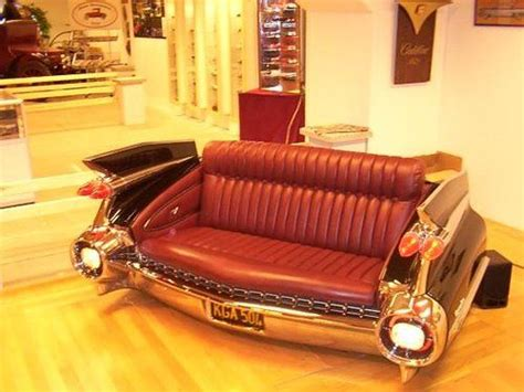 cadillac couch 1959 cadillac couch automotive furniture pinterest