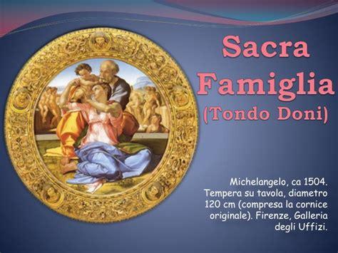 cornice tondo doni ppt sacra famiglia tondo doni powerpoint presentation