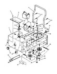 rear frame diagram parts list for model hzs18482bve snapper parts mower tractor parts