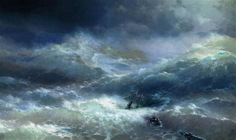 pics for gt ivan aivazovsky the ninth wave wave 1889 ivan aivazovsky wikiart org