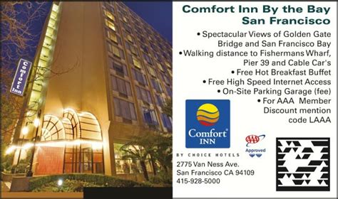 comfort inn by the bay san francisco california comfort inn by the bay san francisco ca aaa com