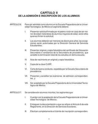 reglamento interno de escuelas preparatorias oficiales 2 reglamento alumnos de preparatoria de la unitec by