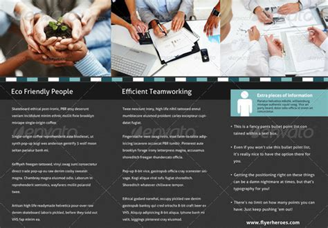10 Business Consulting Brochure Templates For Facilitating Your Work Consulting Brochure Template