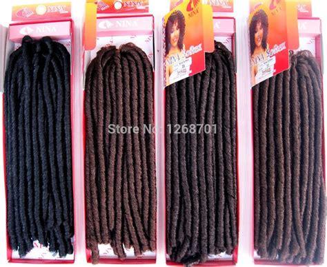 packs of kanekalon hair dreads braids promotion online shopping for promotional