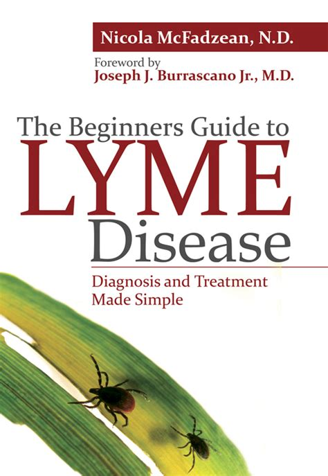 a s guide to living with disease books beginners guide to lyme disease book dr nicola mcfadzean