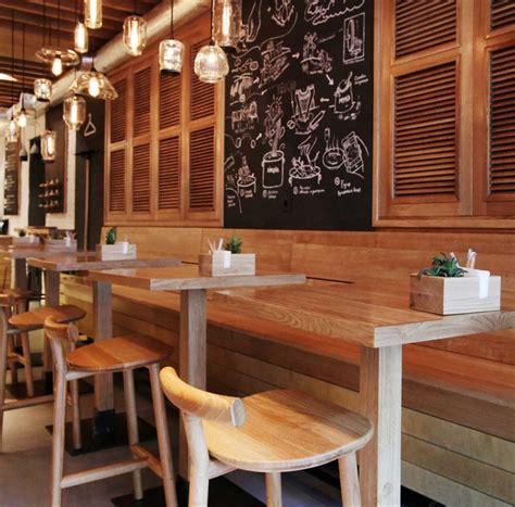 Talenan Tip Handle design interior casual restoran simple desain interior