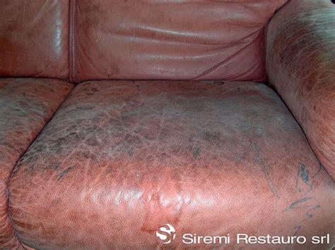 restauro divani in pelle siremi restauro srl galleria fotografica lavori eseguiti