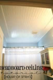 Ceiling Ideas For Bathroom by Beadboard Ceiling In Bathroom