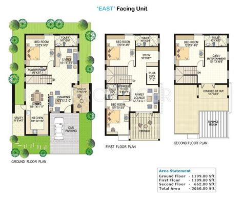 lake view floor plans 3060 sq ft 4 bhk 4t villa for sale in vertex homes lake