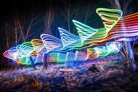 paintings with lights light painting with ws2812 leds