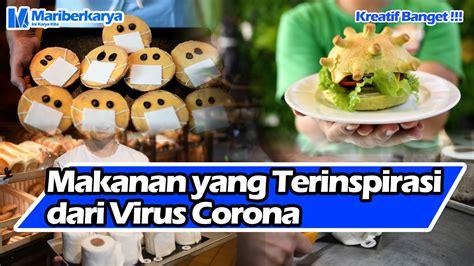 makanan  terinspirasi  virus corona blog