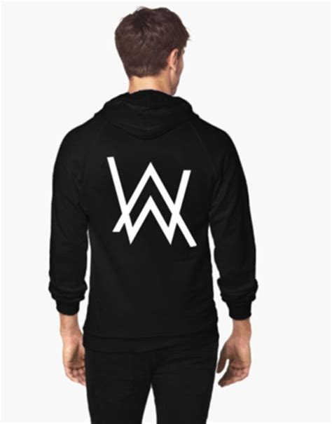 Jaket Hoodie Zipper Anak Logo Dj Alan Walker Marshmello Unisex alan walker faded top dawg dreamville edc umf song logo