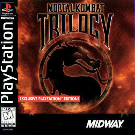 Karpet Ps1 mortal kombat trilogy sony playstation