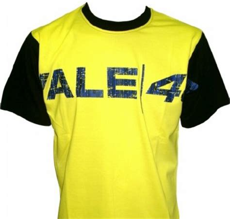 Tshirt Vale 46 valentino t shirt geel vale 46
