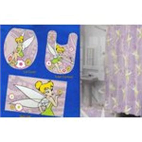 tinkerbell bathroom set 16 disney tinkerbell bath shower curtain hooks rugs set