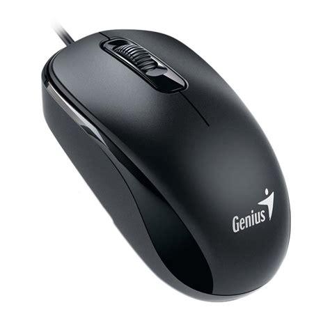 jual genius dx 110 original mouse optik usb hitam