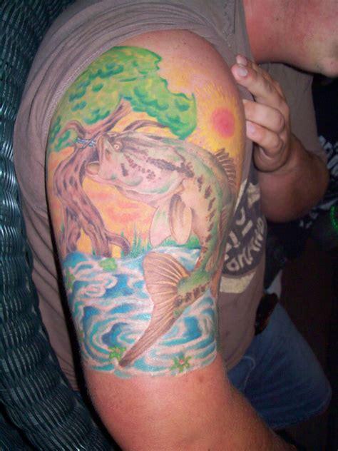 bass tattoo designs bass design picture