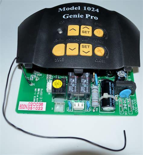 Genie 1024 Logic Board Model 1026 Overhead Door