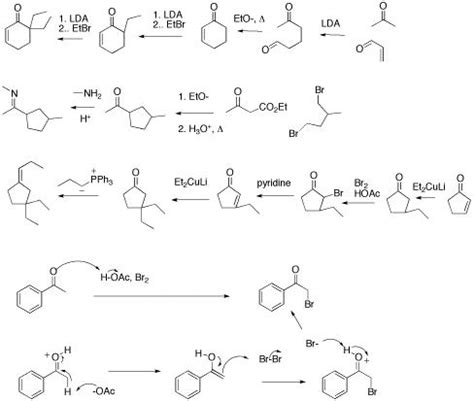 Organic Chemistry Retrosynthesis Practice Problems by Chem 332 1 3 Supplemental Dean Of Students