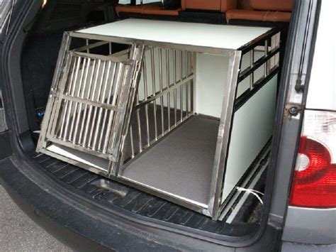 gabbie cani alluminio trasportino gabbia box in alluminio 90x69x50cm