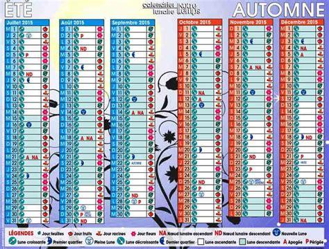 Calendrier Lunaire Jardinage Rustica Calendrier Avec Lune Calendar Template 2016