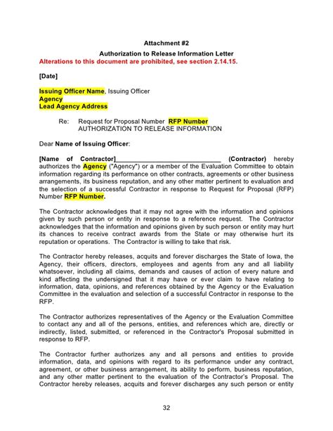 template rfp rfp template word document