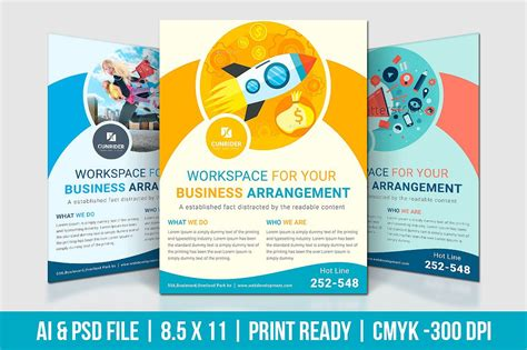 promotion flyer template choice image template design free download