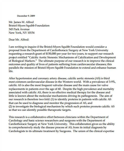Sle Letter For Research Collaboration 38 Business Letter Exles