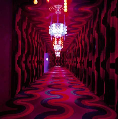 Verner Panton Room by Verner Panton Interiors Restaurant Varna Spiegel