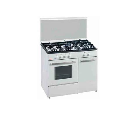 cocina de gas butano corbero ccgbw blanco conforama