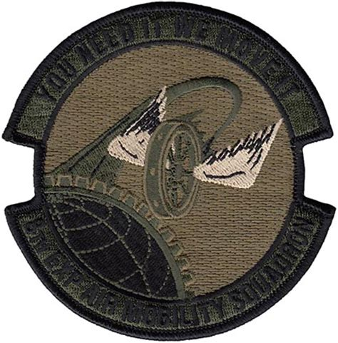 Eams Information Search 8th Expeditionary Air Mobility Squadron Multicam Flightline Insignia