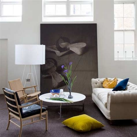 Living Room Focal Point Ideas | artwork focal point living rooms design ideas image