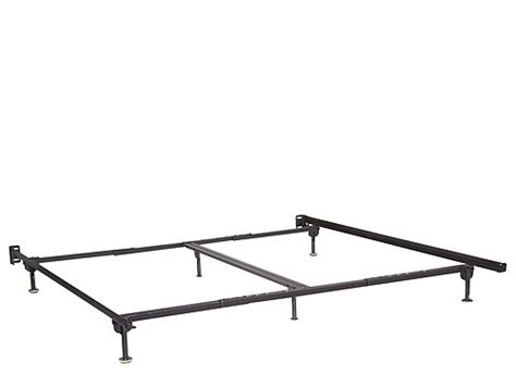 bed frame glides queen king bed frame w glides raymour flanigan
