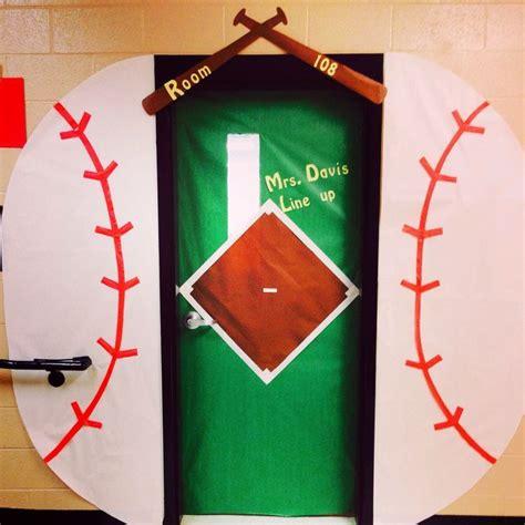 sports themed door decorations best 25 sports bulletin boards ideas on