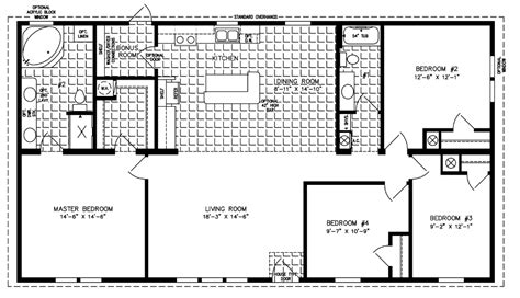 jacobsen mobile home floor plans jacobsen mobile home floor plans