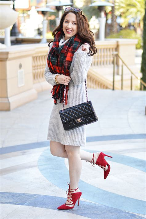 Las Vegas Xtina Style by Sweater Dress For The Winter Of Fashion