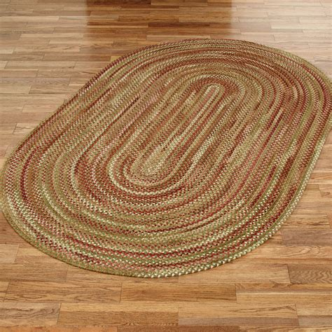 oval rugs homecoming reversible braided oval rugs