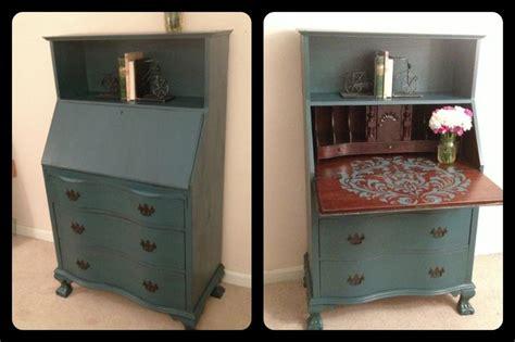 Painted Desk Furniture by Sloan Chalk Paint Aubusson Blue Desk With