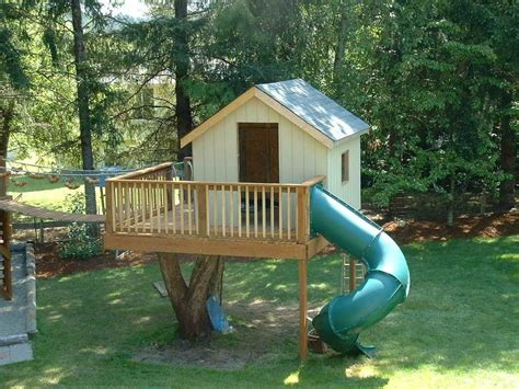 backyard treehouse for kids cheap tree house plans new backyard tree house kits design