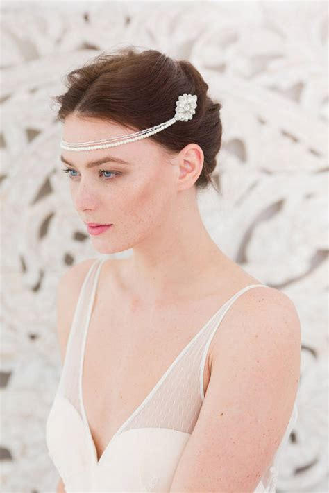 Wedding Hair Comb With Chains By Britten Weddings | wedding hair comb with chains by britten weddings