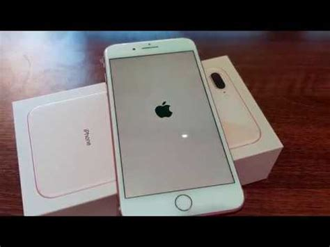 iphone 8 plus gold unboxing 4k