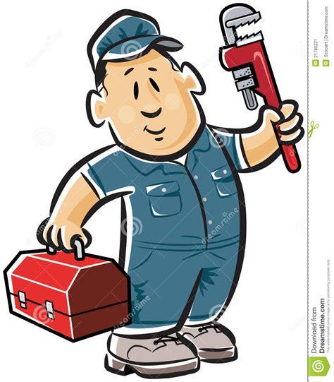 clipart idraulico idraulico professionista illustrazione vettoriale