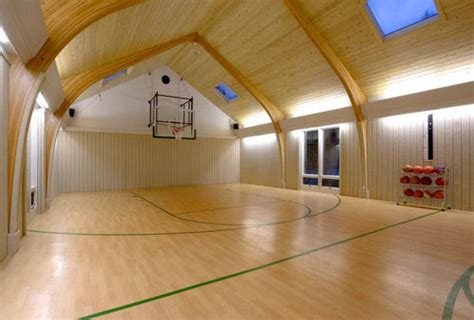 basement basketball court indoor basketball courts prefab homes loan mods improve