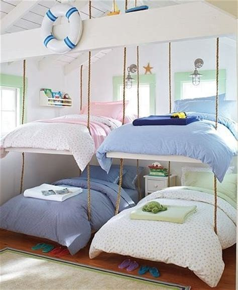 hanging bunk beds hanging beds in rooms design dazzle