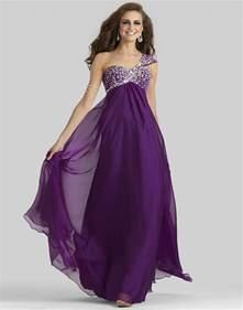 Newest trend of purple prom dresses