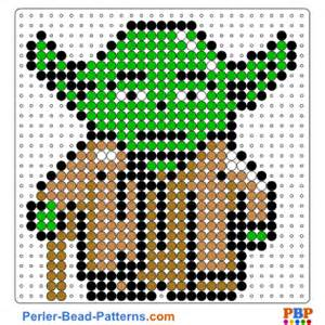 hama bead template printable wars yoda perler bead pattern and designs bead
